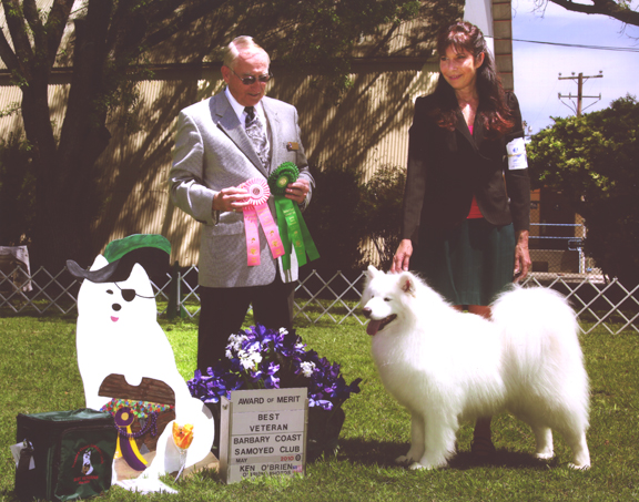Lhotse goes Best Vet and Award of Merit at the Specialty